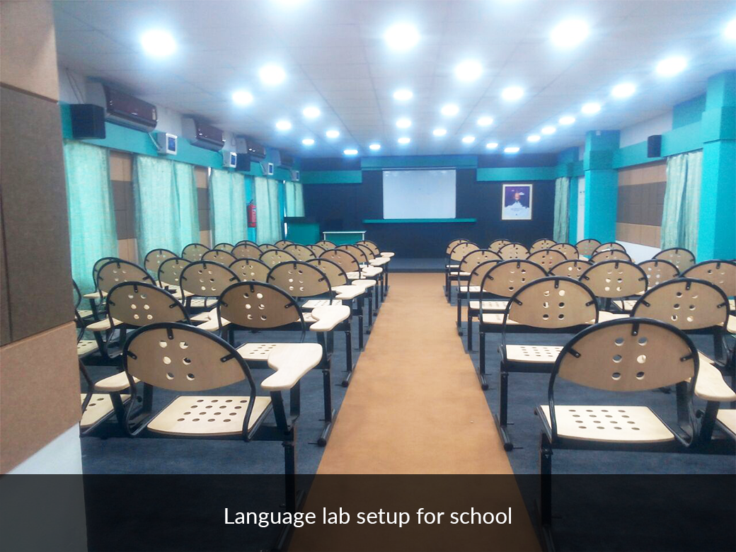 language lab setup for school