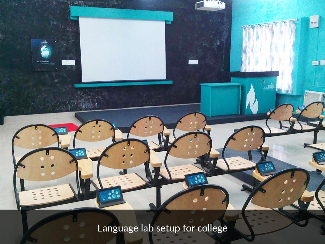 language lab setup for college